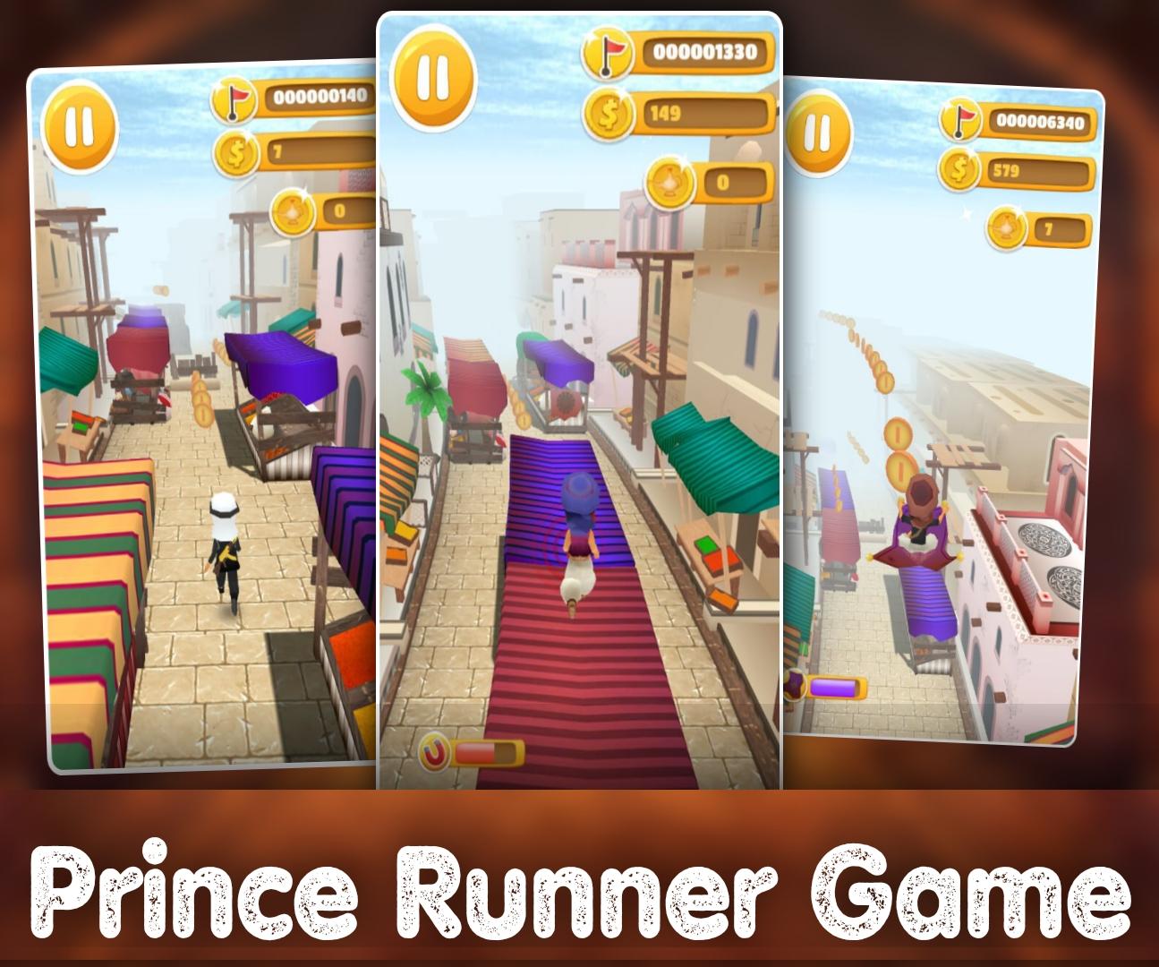 Prince Runing Game