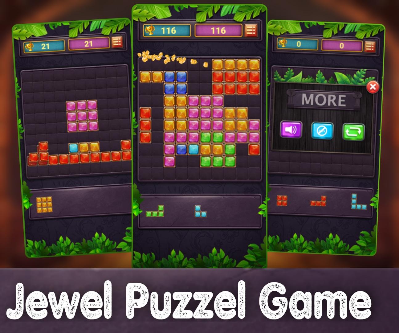 Jewel Puzzel Game