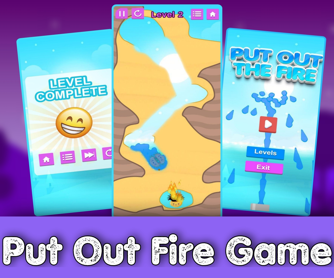 Put Out Fire Game