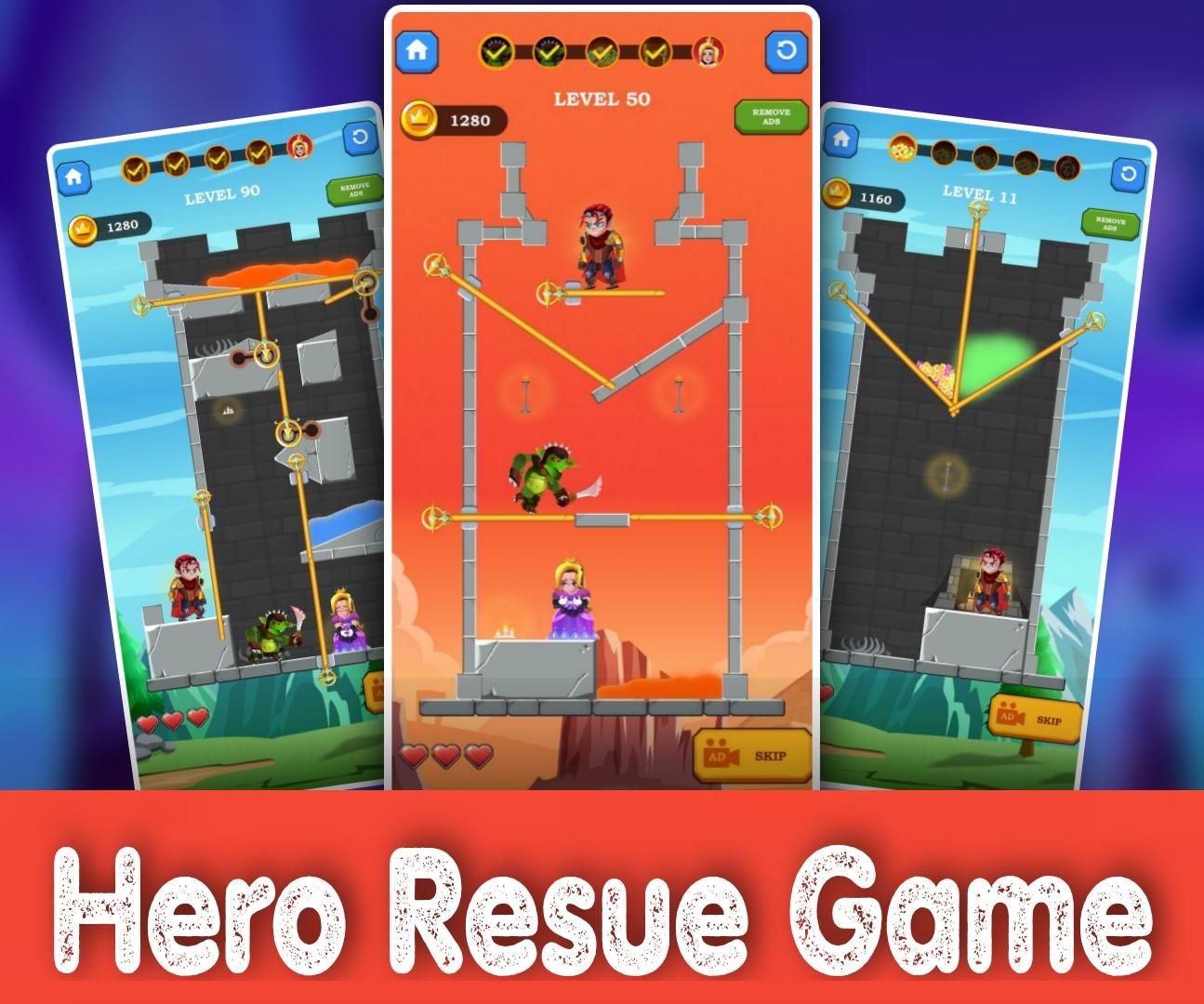 Hero Resue Game
